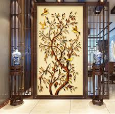 fortune tree golden depression background wall 3d wallpaper for