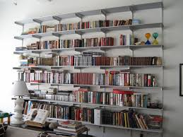 Bookshelves That Hang On The Wall by Decor Wall Mounted Shelf Systems Rakks Shelving Bookshelf Bracket