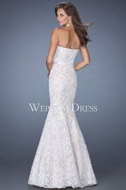 strapless lace mermaid style where to buy prom dress uk
