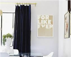velvet curtains etsy