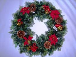 christmas reefs garthwaite nurseries 18 christmas wreath decoration door