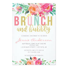 bridal shower brunch invitations bridal shower brunch invitations announcements zazzle