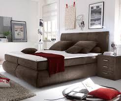 Schlafzimmer Bett Mit Matratze Bett Devonport Braun 180x200 Cm Mit Matratze Und Topper