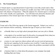 Accident Report Sample Letter Academic Studies English Support Materials And Exercises For
