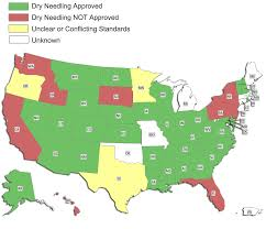 Dry Counties In Usa Map by Dry Needling Scope Of Practice Integrative Dry Needling