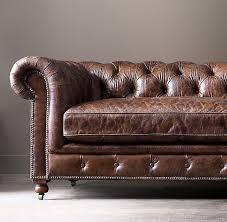 restoration hardware chesterfield sofa charming kensington leather sofa of restoration hardware