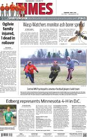 kanabec county times e edition april 7 2016 by kanabec county