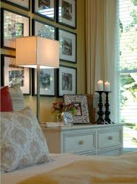 10 ways to display bedroom frames hgtv a dramatic statement