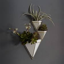 planters that hang on the wall trigg wall planters west elm