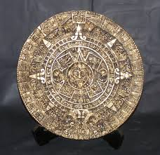 aztec calendar brown u0026 gold 11 inch diameter