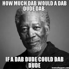 Dab Meme - how much dab would a dab dude dab if a dab dude could dab dude meme