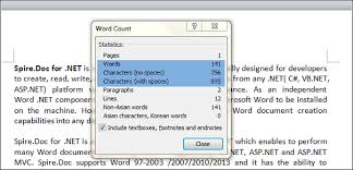 Count Words In A Text Document The Number Of Words In A Document In C Vb