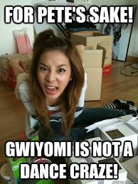 Meme Photos Tagalog - for pete s sake gwiyomi is not a dance craze dara quickmeme