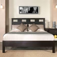 modus nevis 3 piece riva platform bedroom set in espresso beyond
