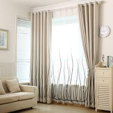 curtains for living room windows custom curtain shade thickening cotton bedroom modern minimalist
