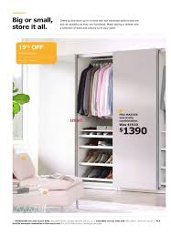 Ikea Undredal Ikea The Wardrobe Event Flyer May 22 To June 12 2017 Weekly