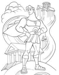 hercules coloring pages bestofcoloring com