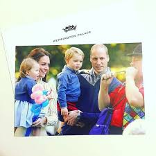 see prince william and kate middleton u0027s 2017 christmas family card