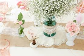 baby shower centerpieces for tables vintage southern garden themed baby shower