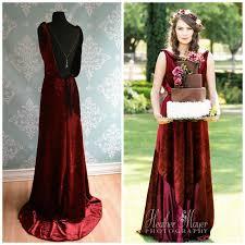 backless marsala velvet wedding gown 1930 1920 art deco