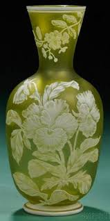 Antique Art Glass Vases Antique Art Glass Cameo Glass Glass Vase Thomas Webb Vintage