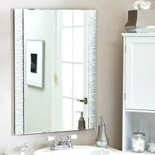 wall mirrors bathrooms designantique frameless mirrors awesome