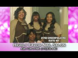 highly favor nails video ch20 detroit youtube