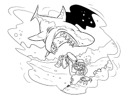 100 shark coloring page get this tiger shark coloring pages