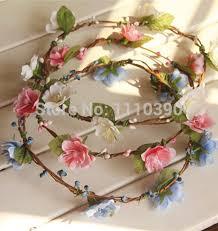 flower decoration for hair 40cm artificial flower rattan grape vine garland for diy