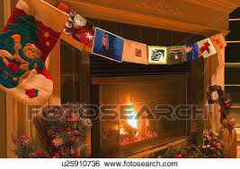 fireplace poster stock images of traditional
