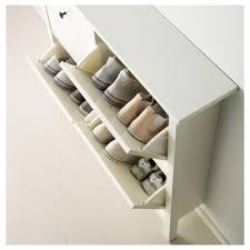 Ikea Desk Drawer Organizer by Hemnes Shoe Cabinet With 4 Compartments White 107x101 Cm Ikea