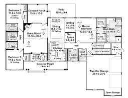 traditional house floor plans house plan 59115 at familyhomeplans com