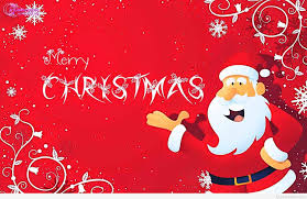 santa wish merry to all quote