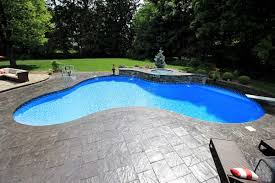 Lagoon Style Pool Designs by Lagoon Shaped Inground Pools Cannon Pools And Spas