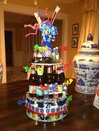 Liquor Bottle Cake Decorations 21 Ways To Demonstrate Your Passionate Love For Beer Beer Cakes