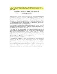 bureau de change d inition defining the post bureaucratic type pdf available