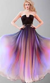 dresses for prom beautiful sunset ombre cape prom dresses ksp421 ksp421
