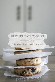 date thanksgiving 2015 freezer date cookies a sugar free thanksgiving treat