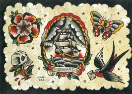new traditional tattoo flash sheet 4 jpg 600 427 pixels 1920s