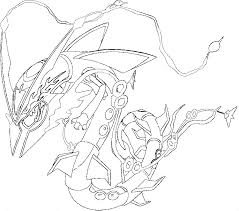 rayquaza coloring pages 8314