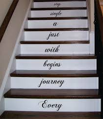 every journey stairs decor decal sticker wall vinyl art stair