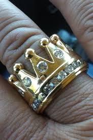 mens crown rings images Gold 7 5 ct diamond mens crown ring jewelry pinterest rings jpg
