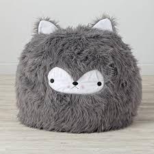 fluffy bean bag