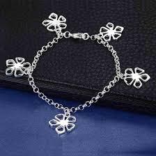 aliexpress buy new arrival 10pcs upscale jewelry aliexpress buy 10pcs 2016 luxury silver flower bracelet