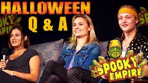 rob zombie u0027s halloween cast q u0026 a at spooky empire retro 2017