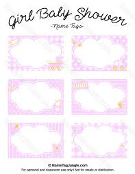 free printable baby shower name tags the template can also