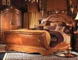 California King Sleigh Bed Aico Cortina Sleigh Bed Foter