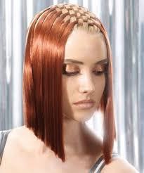 interlocking hair basket weave hairstyle