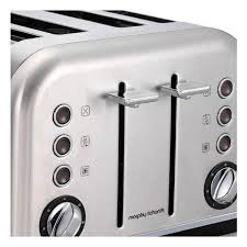 Morphy Richards Accent Toaster Morphy Richards 242026 Accents 4 Slice Toaster Home Clearance
