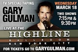 gary gulman tapes you u0027ll get over it new comedy special on march
